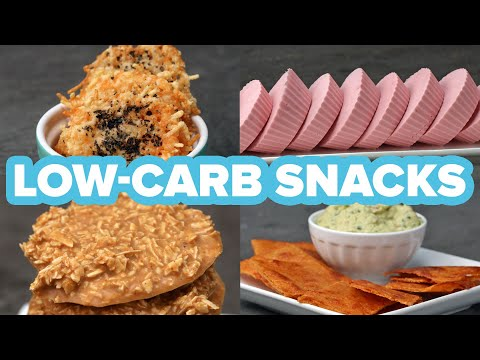 Low-Carb/Keto Friendly Snacks Healthy Food Videos