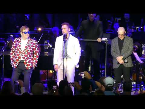 Sir Elton John & Taron Egerton ~ I'm Gonna Love Me Again/Don't Let the Sun~ Greek Theatre ~ 10/17/19