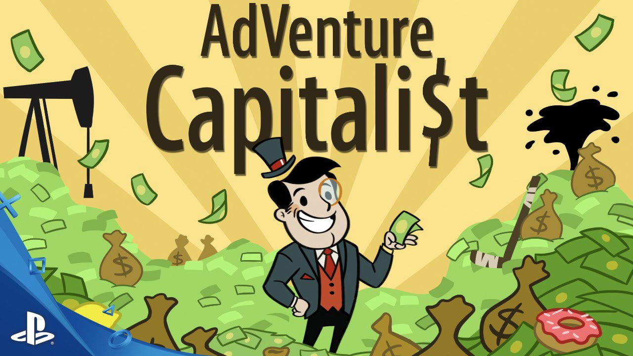 adventure capitalist gameplay trailer ps4 youtube