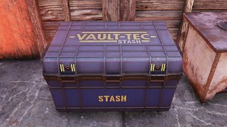 Fallout 76 - How to slash your STASH weight