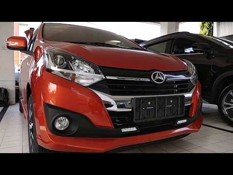 In Depth Tour Daihatsu  New Ayla 1.2 R Orange 2018 - Indonesia
