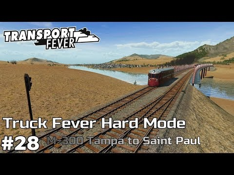 M-300: Tampa to Saint Paul [2023] - Transport Fever [Hard Mode/Truck Fever] [ep28]