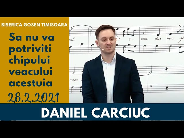 Gosen 28.2.2021 dum dimineata | Daniel Carciuc