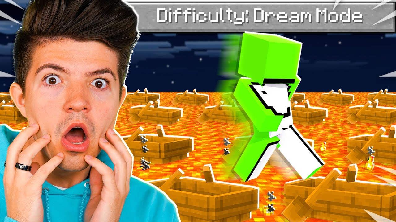 """Download So I Added """"Dream"""" Mode Difficulty in Minecraft.."""