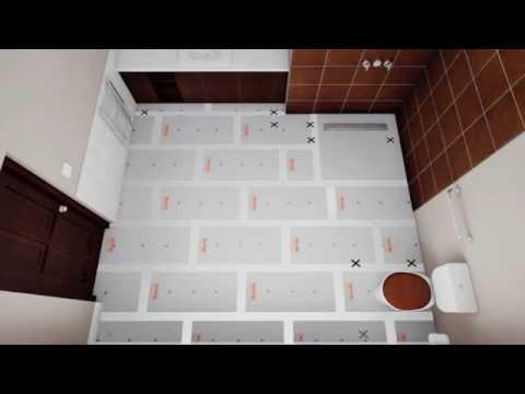 Warmup Bathroom Underfloor Heating Installation Guide (Loose Wire)