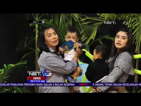 Intip Perayaan Ulang Tahun Cucu Pertama Presiden Jokowi bersama Anak-Anak Yatim