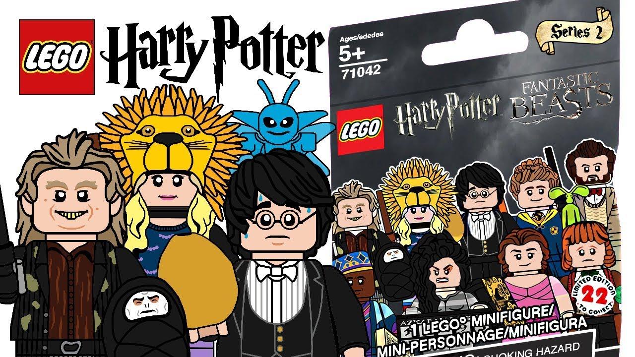 Lego Harry Potter Minifigures Series 2 Cmf Draft Youtube