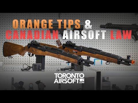 NO ORANGE TIP? Canadian Airsoft Law EXPLAINED! - TorontoAirsoft.com