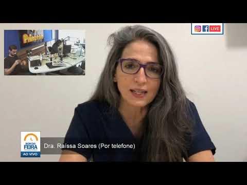 Dra. Raissa Soares fala ao Bom Dia Feira sobre uso de hidroxicloroquina em pacientes da Covid-19