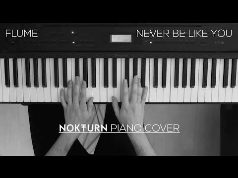 Flume - Never Be Like You Feat. Kai (Piano Cover)