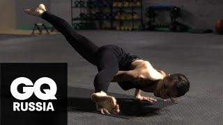 Бой с весом: йога за 3 минуты