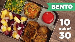 Bento Box Healthy Lunch 10/30 - Mind Over Munch