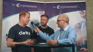 Interview with Clarity's CEO Aynsley Damery