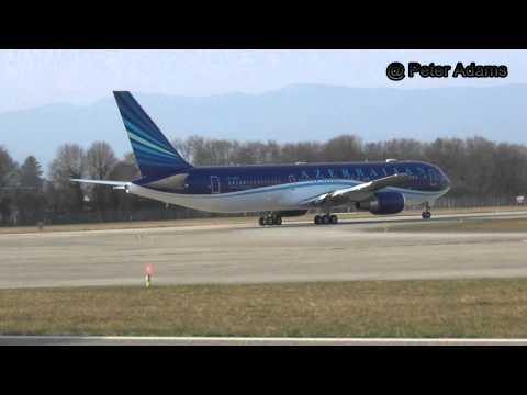AZERBANJAN GOVERMENT 767 300 DEPARTING GVA GENEVE Geneva