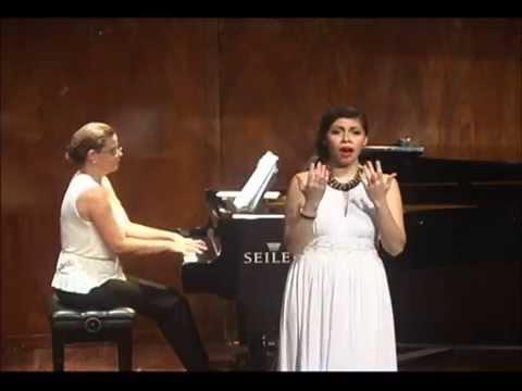 02 Robert Schumann - Die Lotosblume (Myrthen) - Abigail Coral Almeida