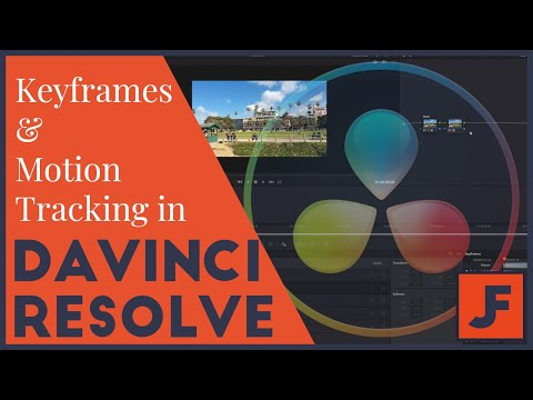 Keyframing and Motion Tracking in Davinci Resolve 16 - Effects Tutorial