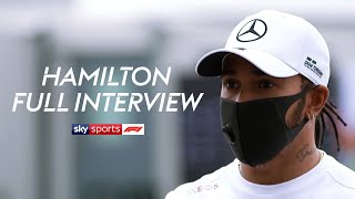 Lewis Hamilton on new contract talks, battling racism & being described as the G.O.A.T