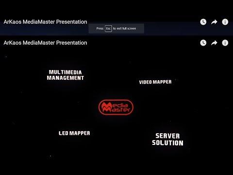 ArKaos MediaMaster Presentation