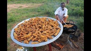 Finger CHICKEN!!! Chicken finger prepared by my Daddy ARUMUGAM / Village food factory