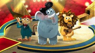 Jogo Circus Animals Finish your Food - iPad app demo for kids
