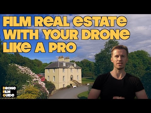 5 Tips For How To Shoot Cinematic Drone Real Estate & Buildings || TUTORIAL By Drone Film Guide