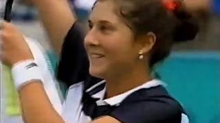 Monica Seles vs Gabriela Sabatini 1996 Olympics R3 Highlights