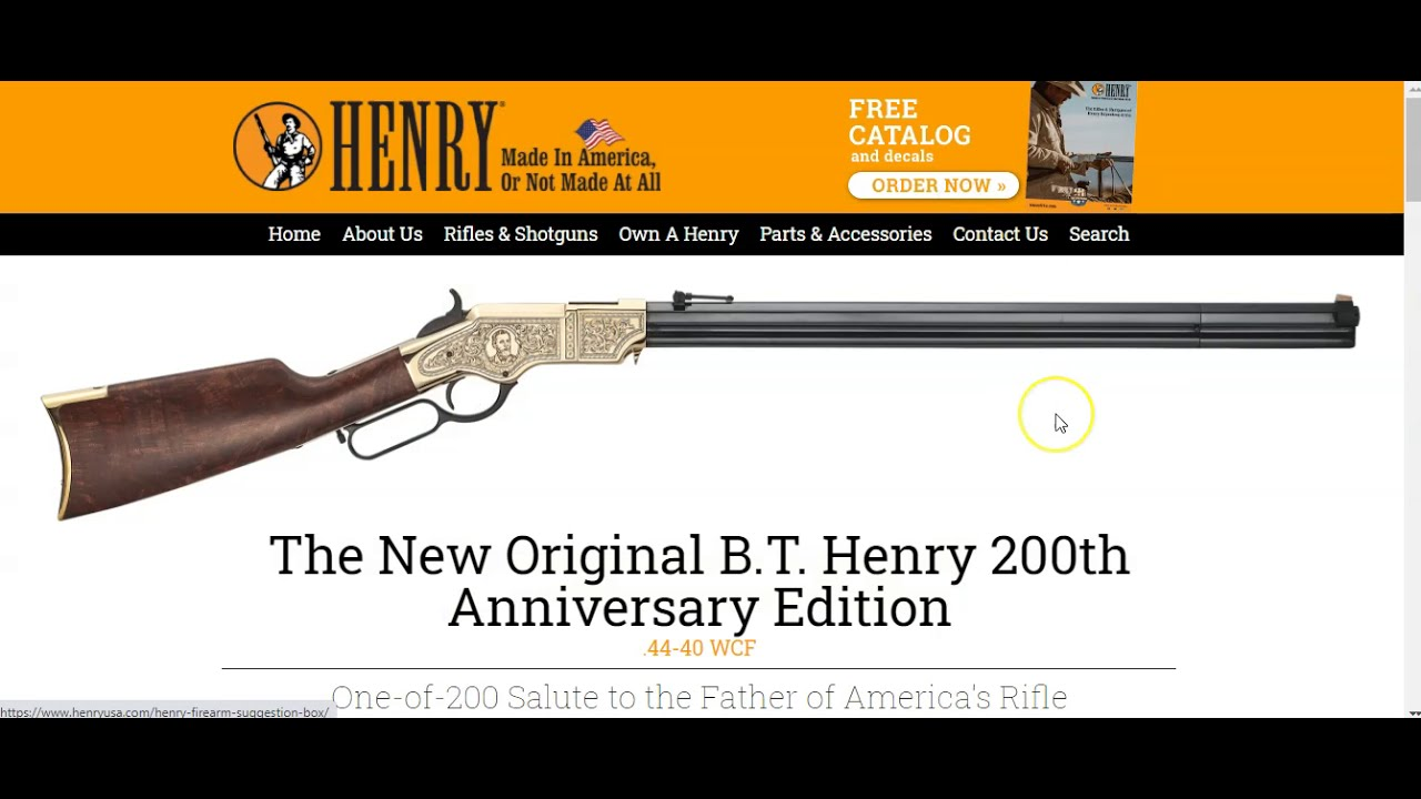 Henry Repeating Arms releasing 32