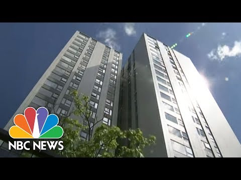 Safety Concerns Multiply In Britain's Aging High-Rise Apartment Buildings | NBC News