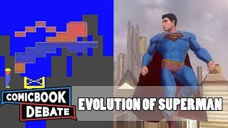 Evolution of Superman Games in 5 Minutes (2017)