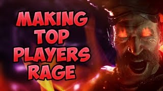 COD 4 Remastered SnD - Making Top Players RAGE