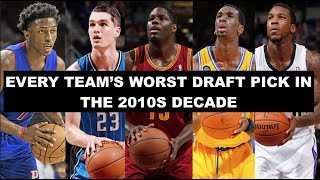 The Worst Draft Picks from Every NBA Team This Decade