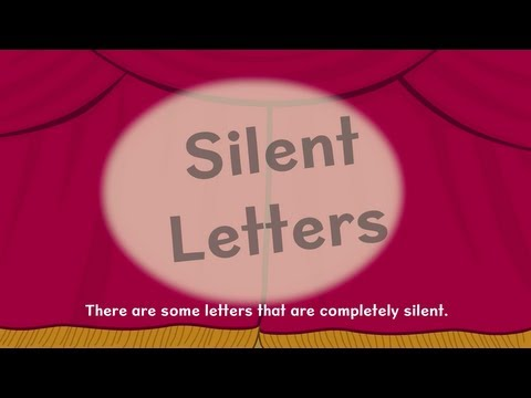 Nessy Reading Strategy: Silent Letters