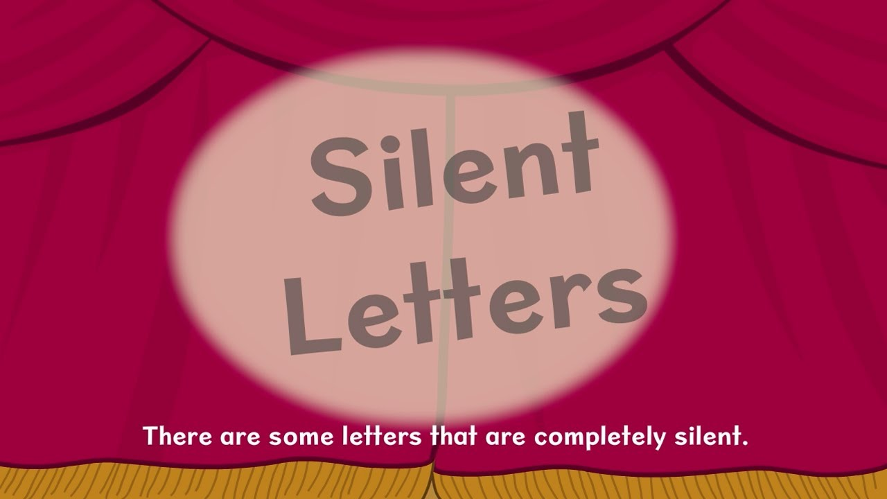 hight resolution of Nessy Reading Strategy   Silent Letters   Learn to Read - YouTube