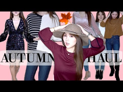 AUTUMN 🍁 TRY- ON CLOTHING & SHOE HAUL | TOPSHOP, MADEWELL, NORDSTROM | CHARIS ❤️