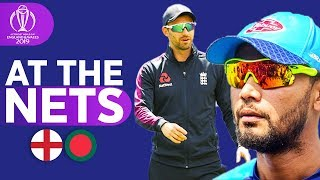 ENG v BAN - At The Nets | ICC Cricket World Cup 2019