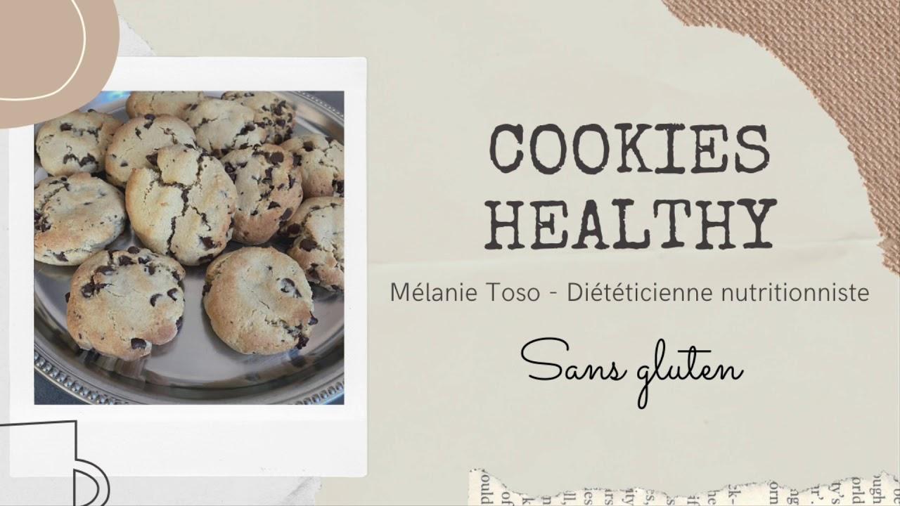 Cookies healthy sans gluten