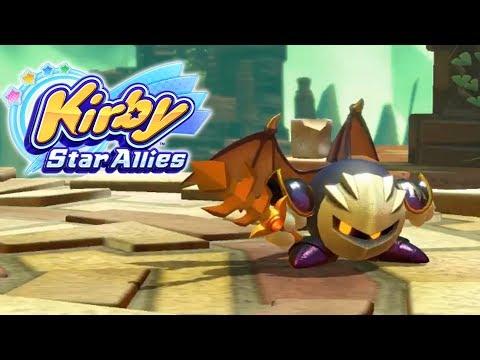 Kirby: Star Allies | Meta Knight Footage