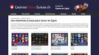 #1 Guide de casino en ligne Suisse