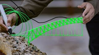 3D펜으로 독도에 다리 만들기