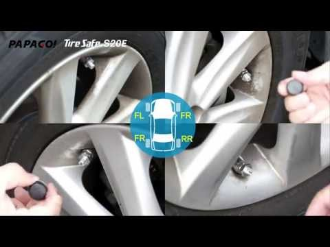 PAPAGO!TireSafe S20E 胎壓偵測器開箱與安裝教學