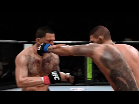 UFC 185 Pettis Vs Dos Anjos First round Knockout