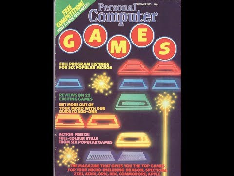 """Computer & Video Game Magazines - """"Personal Computer Games"""""""