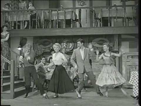 Bob Fosse, Debbie Reynolds, Bobbby Van and Barbara Ruick Dance and Sing