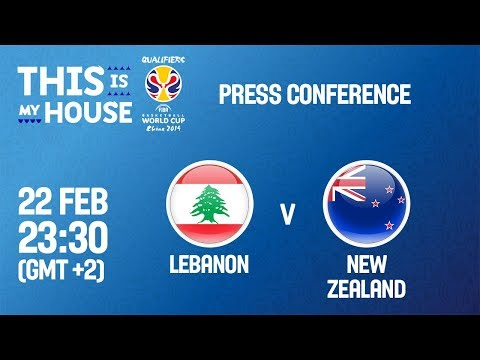 Lebanon v New Zealand - Press Conference