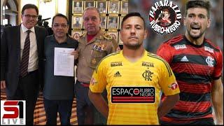 Flamengo consegue liberação total do Ninho do Urubu! Arrascaeta titular? Encontro com Diego Alves!