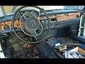 1972 Mercedes Benz 280SE 4.5 Interior Restoration