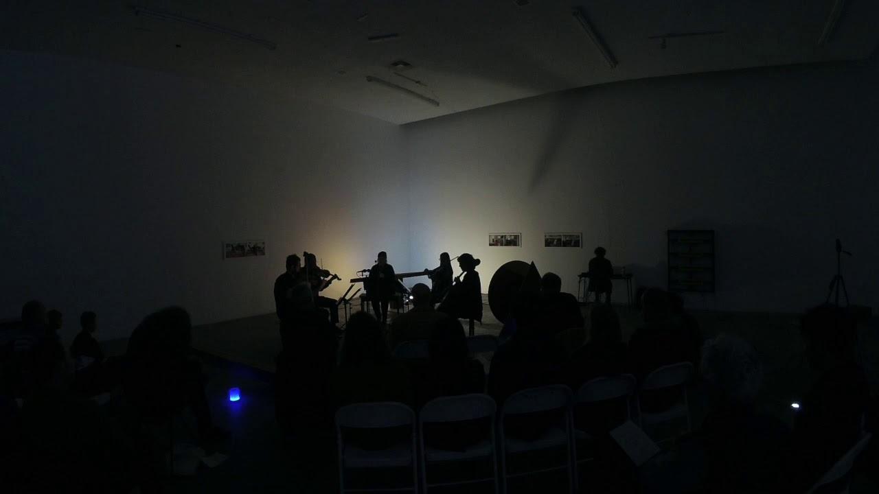 KOAN Quartet & Katie Porter perform JÜRG FREY: QUINTET (1998)