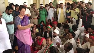 Priyanka prevented from Sonbhadra visit, slams UP govt