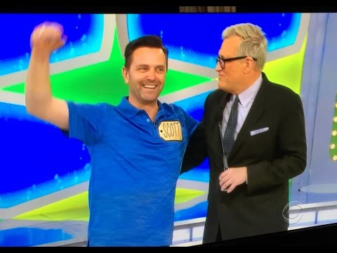Scott Fowler from Legacy Five on Price is Right (Clip 2)