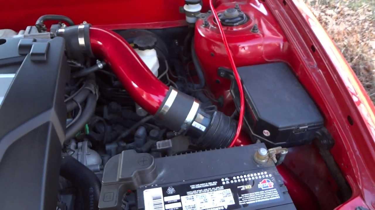 Hyundai Tiburon Gt V6 Cold Air Intake Installed Youtube